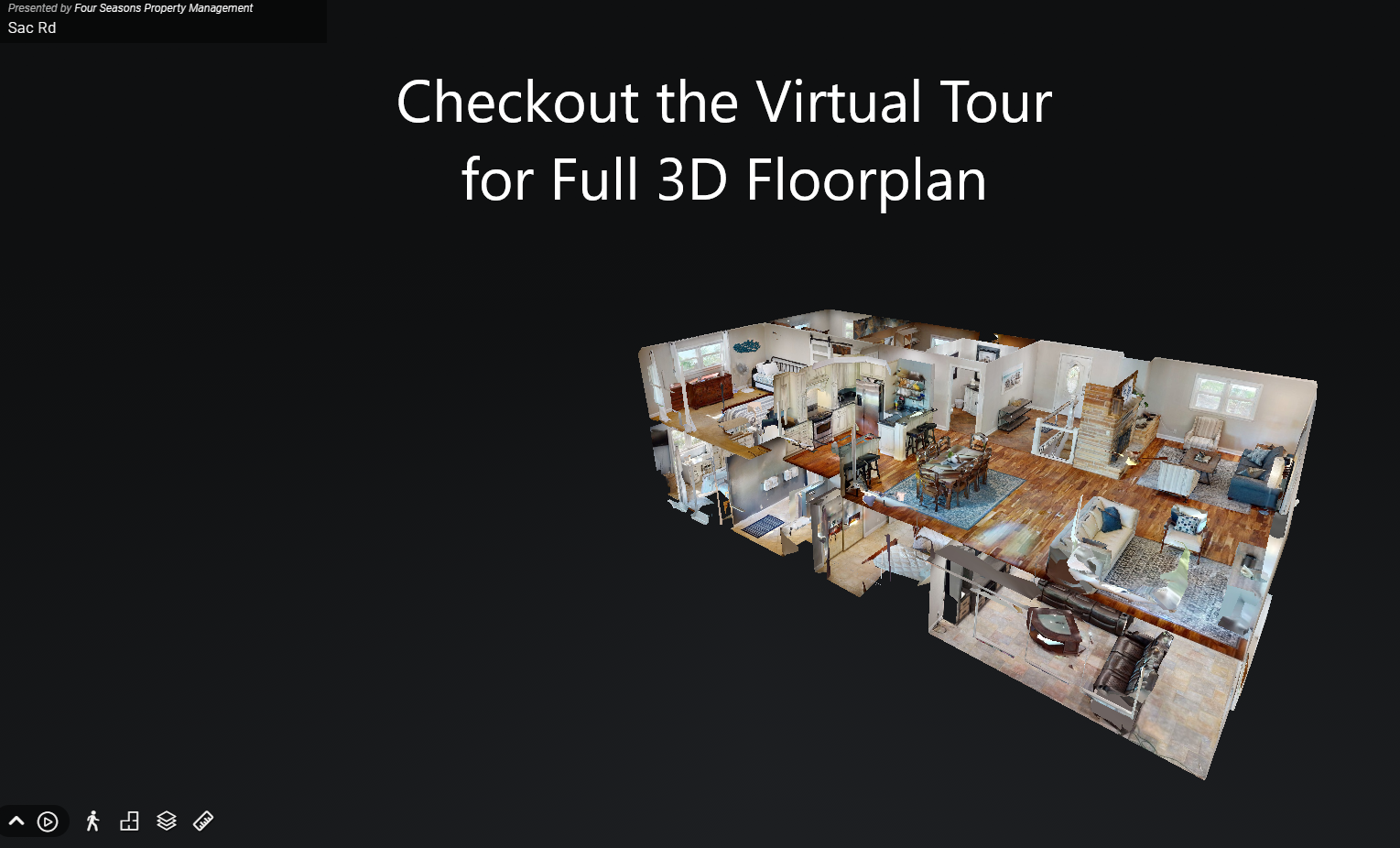 Floor Plan for Two Level Lakefront House Sleeps 19 in Beds with Dock